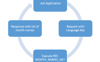 .net application and SAP integration example overview