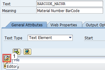 Bar Code Printing with Smatforms - SAP ABAP - SAP
