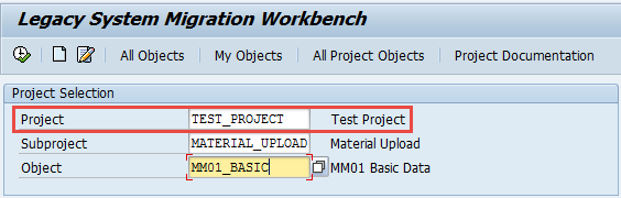 lsmw-transport-select-project-subproject-object-abap