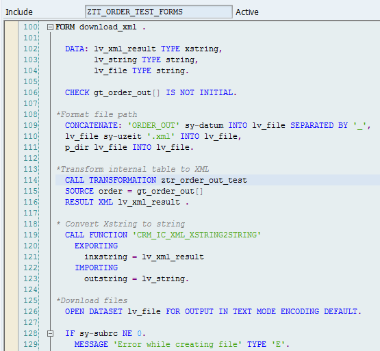 XML Transformation Example with XSLT_TOOL - SAP Integration Hub