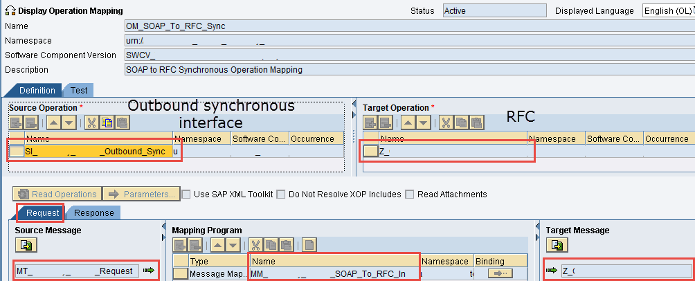 Expose RFC as Web Service in SAP PI/PO - SOAP to RFC Synchronous