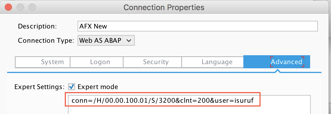 sap-gui-expert-mode-connecrion-string