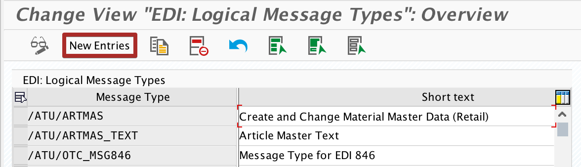 Create custom Message Type in we81