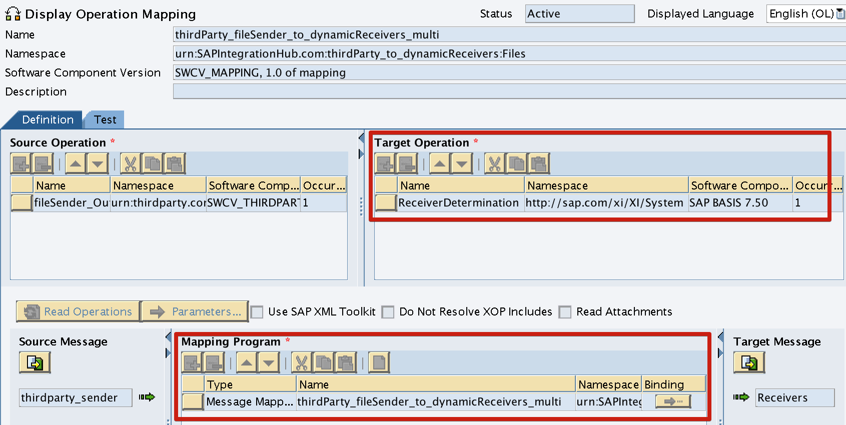 Dynamic Extended Receiver Determination SAP PI/PO - SAP