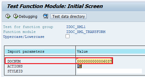 View iDoc XML format using Function Module IDOC_XML_TRANSFORM