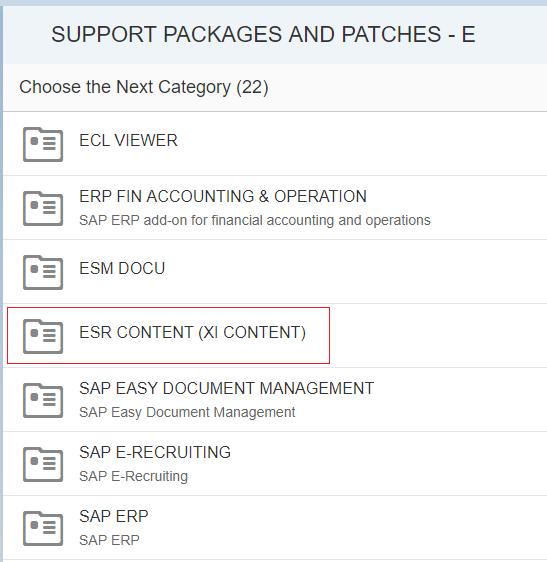 How to Import Standard ESR Content to PI/PO - SAP