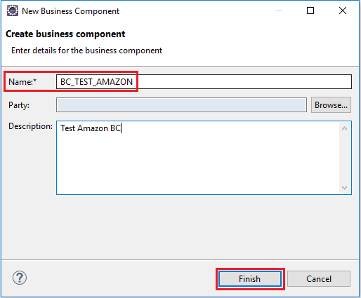 Create new Business Component in NWDS Eclipse for iFlow