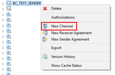 Create Sender File Communication Channel in NWDS for iFlow