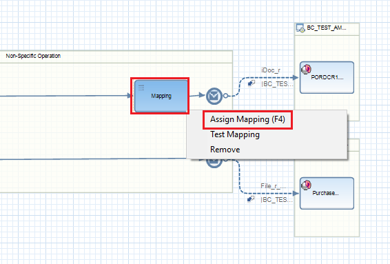 Assign Mapping program to iFlow