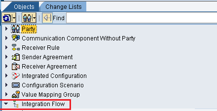 Integration Flow in Integration Directory