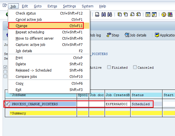 change-scheduled-background-job-avoid-overlapping-sap - SAP