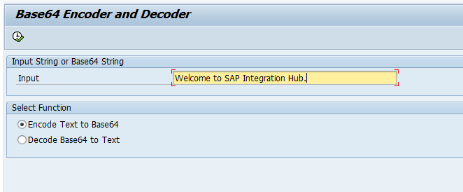 Base64 Encoding and Decoding in SAP ABAP - SAP Integration Hub