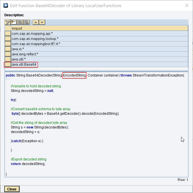 Base64 Encoding and Decoding UDFs for PI/PO (Example) - SAP