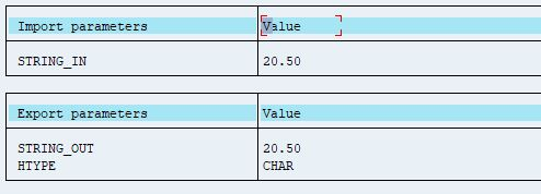 ABAP Numeric Check in SAP HANA - SAP Integration Hub